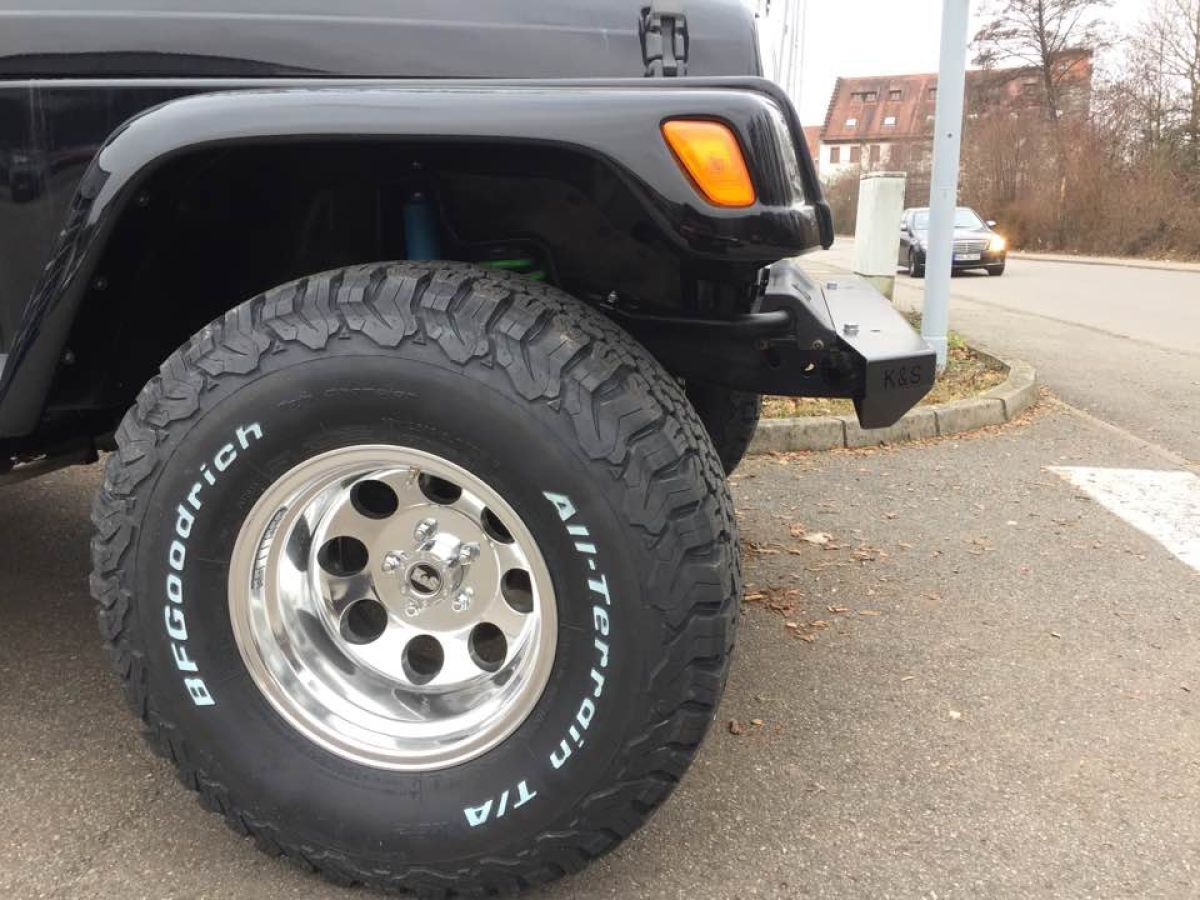 Alu Felge Alcoa Design Optik 10x15 Mit Tüv Gutachten Jeep Wrangler