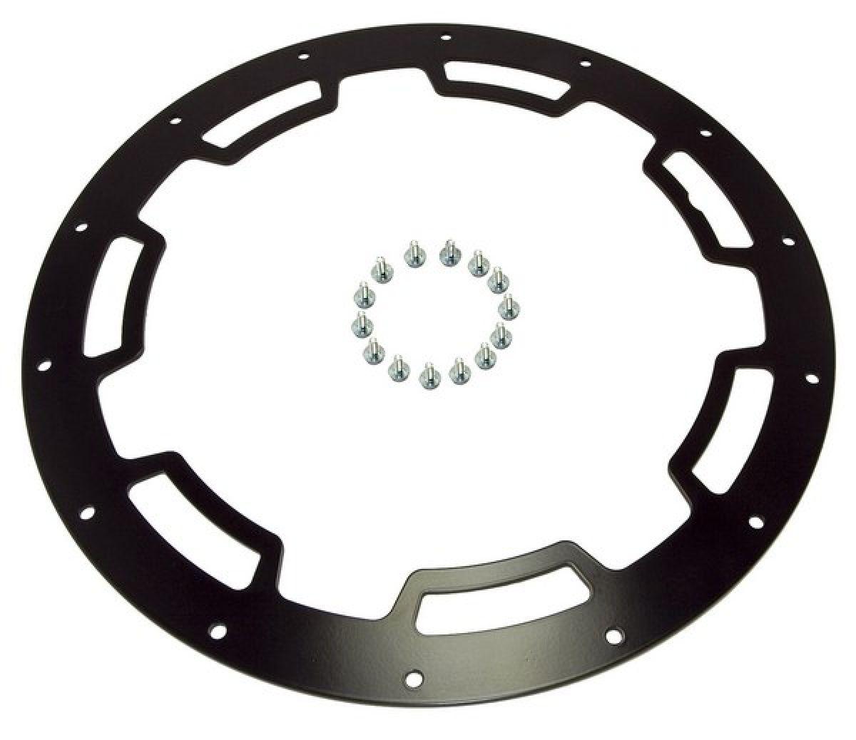"18/"" XHD Wheel Black Rim Protector 15250.03 Rugged Ridge"