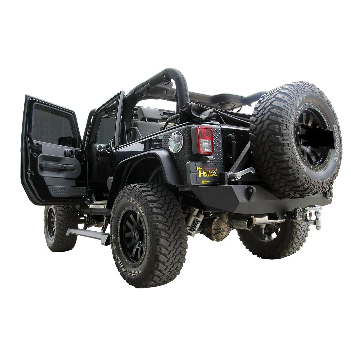 Flankenschutz Trittbrett elektrisch Jeep Wrangler JK 07- 2-Türer T ...