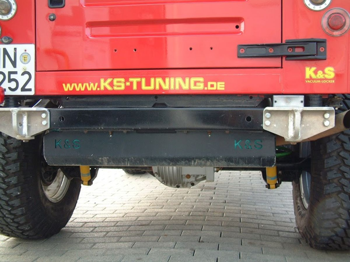 K+S Abschlepphaken HD verstärkt hinten links Jeep Wrangler TJ + YJ ...