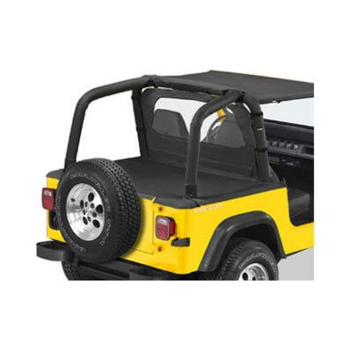 laderaumabdeckung neu bestop duster jeep wrangler tj bj. Black Bedroom Furniture Sets. Home Design Ideas
