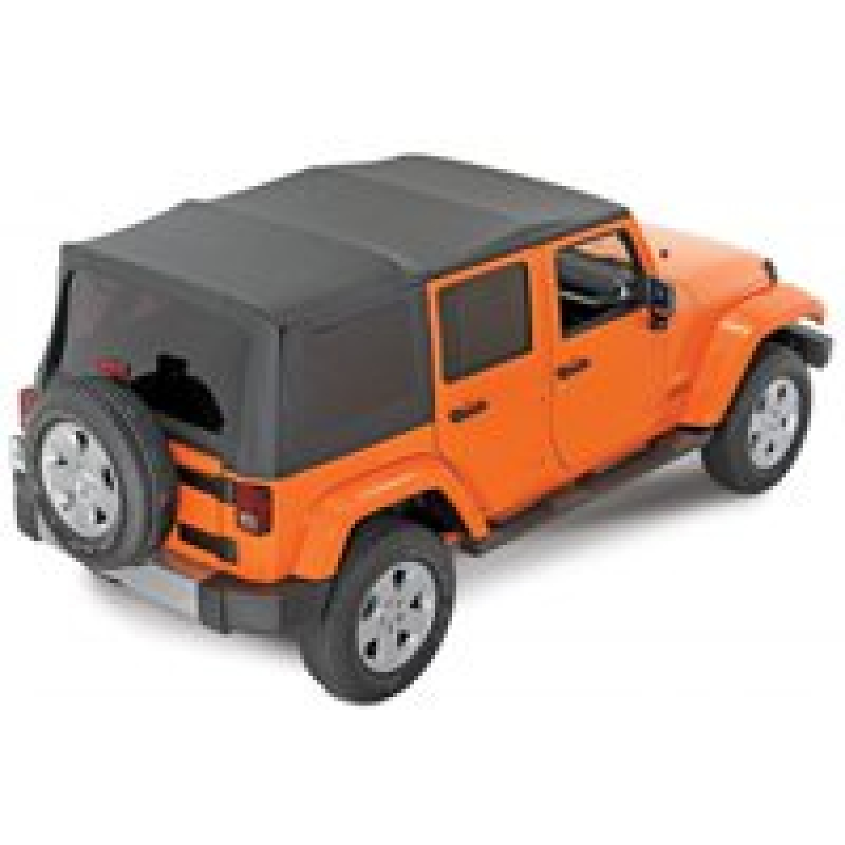 Softtop Jeep Wrangler Jk Unlimited 4 Ture 07 Org Mopar 82213651