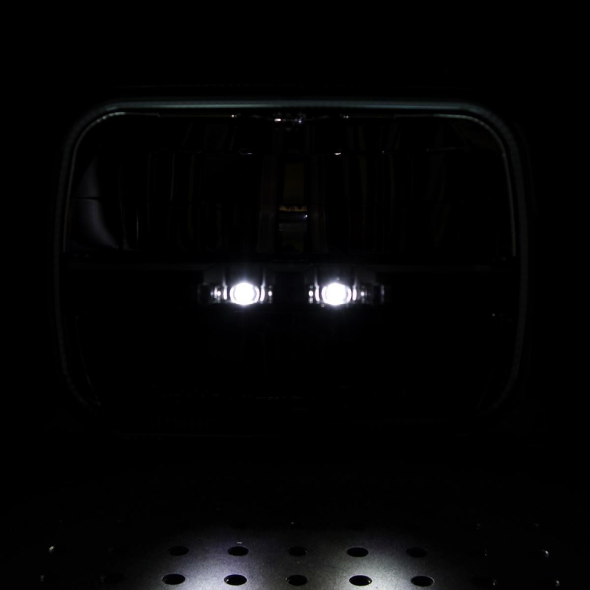 Lkw Tuning Beleuchtung | Scheinwerfer Led 14x20 Cm E Prufzeichen Truck Lite Jeep Cherokee Xj