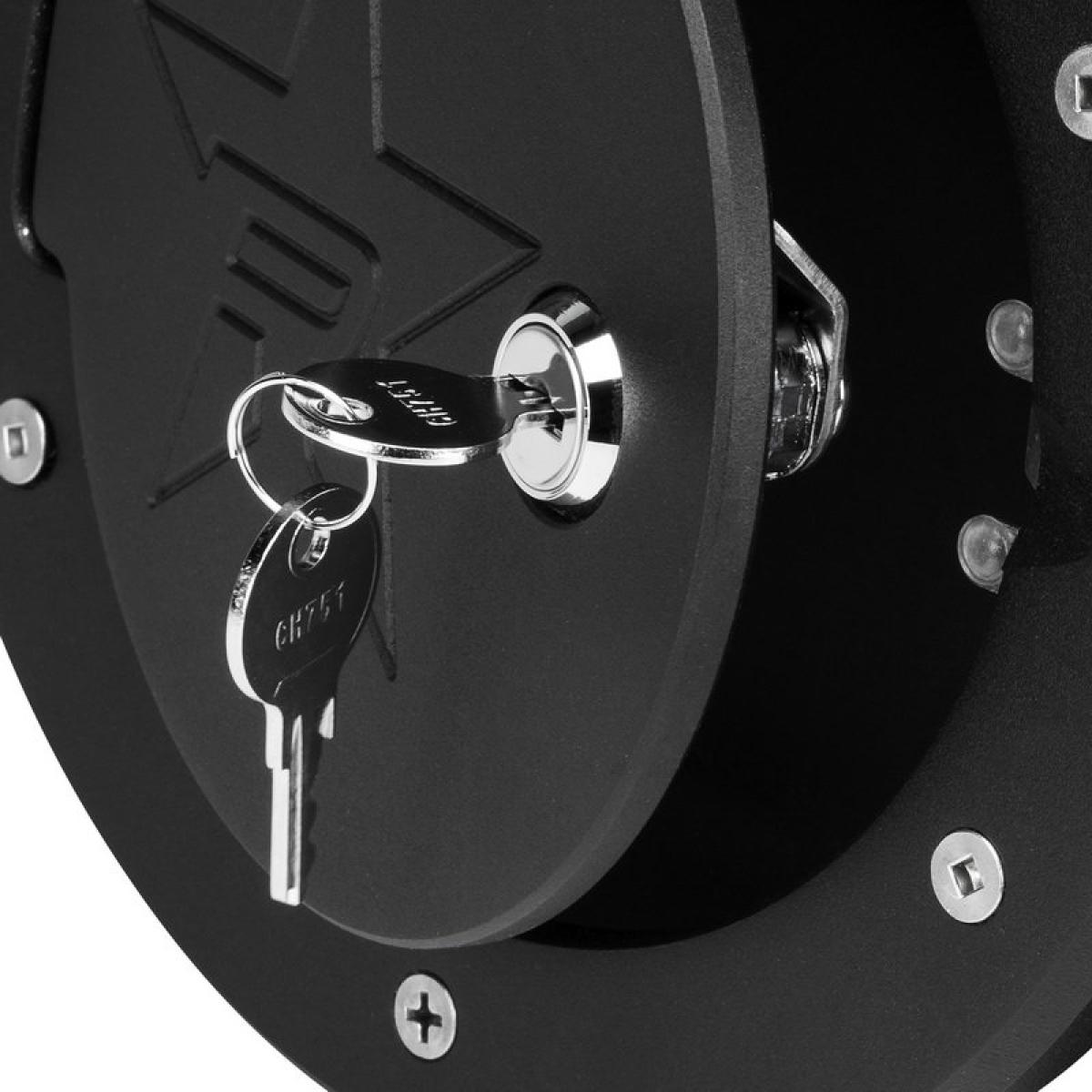 schwarz ABS Tankdeckeldeckel Passend f/ür Wrangler JK 2007-2017 Autozubeh/ör Tankdeckel