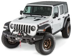 Frontstoßstange ELITE breit mit Grillschutz Jeep Wrangler JL 18- WARN 101337 Elite Series Full Width Front Bumper with Grille Guard for 18- Jeep Wrangler JL